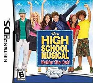 Juego nintendo ds high school music makin the cut original