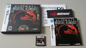 Nintendo ds mortal combat completa