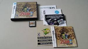Nintendo ds zelda phantom hourglass original completa colecc