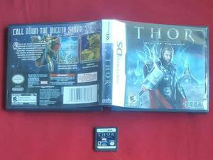 Thor: god of thunder / nintendo ds lite dsi & 3ds
