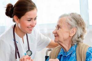 Cuidado de adulto mayor, de niños y bebes enfermera a