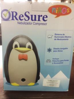 Nebulizador compresor en forma de pinguino - medellín