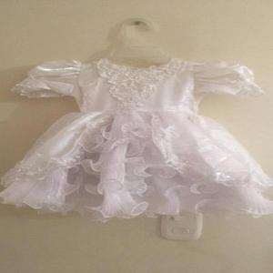 Vestido blanco 18 meses