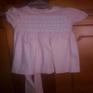 Vestido fiesta niña rosado 18 meses - medellín