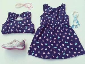 Vestido cherry niña x solo $30mil o 2 x $50mil. - yopal