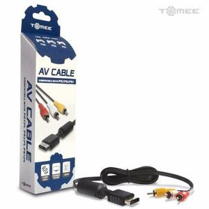 Cable audio video av ps1 ps2 ps3 marca tomee - medellín