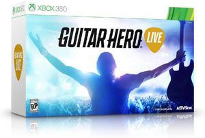 Guitar hero live xbox 360 nuevo sellado entrega inmediata -
