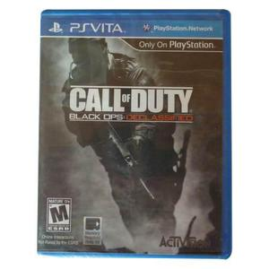 Call of dutty black ops declassified -ps vita - fisico