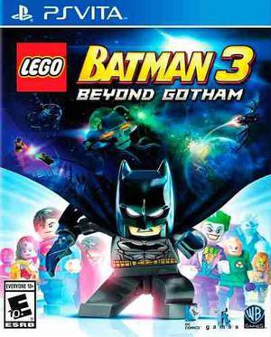Lego batman 3 ps vita nuevo original domicilio