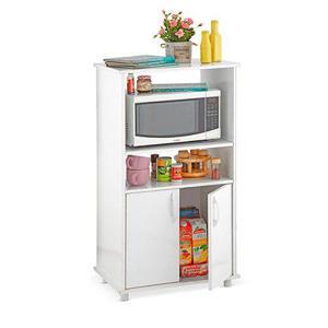 Mueble auxiliar hornos cocina blanco