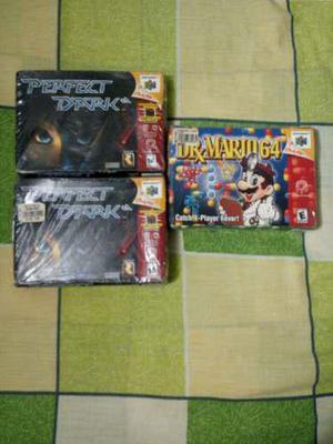 Nintendo 64 juegos nuevos sellados para tu coleccion persona