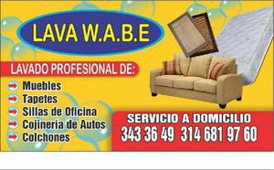 Lavado de muebles,tapetes,colchones,interior de autos.sillas