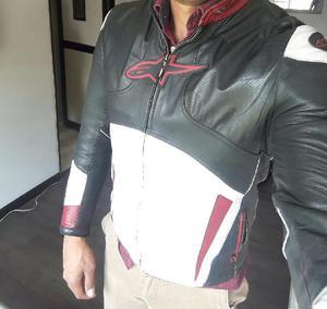 Chaqueta para moto de cuero alpinestar - bogotá