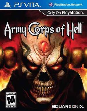 Fisico nuevo original army corps of hell ps vita