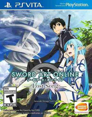 Juego fisico ps vita sword art online lost song