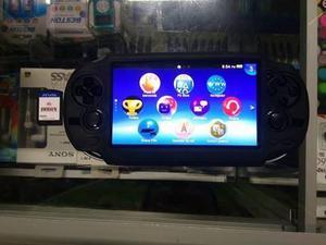 Ps vita usada + memoria de 16 gb original + juego