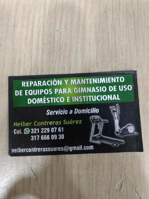Servicio Técnico de Equipos de Gym - Bucaramanga