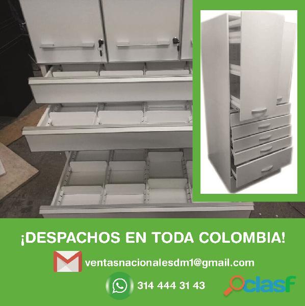 Reparación de torres gaveteras estantería y lockers metálico