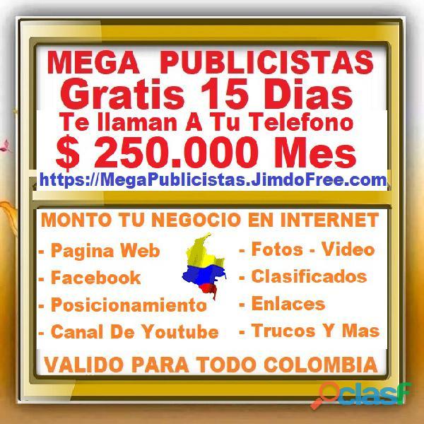 ⭐ gratis, mega publicistas bogota, agencia publicidad, super publicista, ultra marketing digital, po