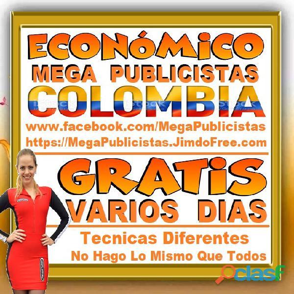 ⭐ GRATIS, Mega Publicistas BOGOTA, Super Publicista, Ultra Agencia Publicidad, Marketing Digital, Me 5