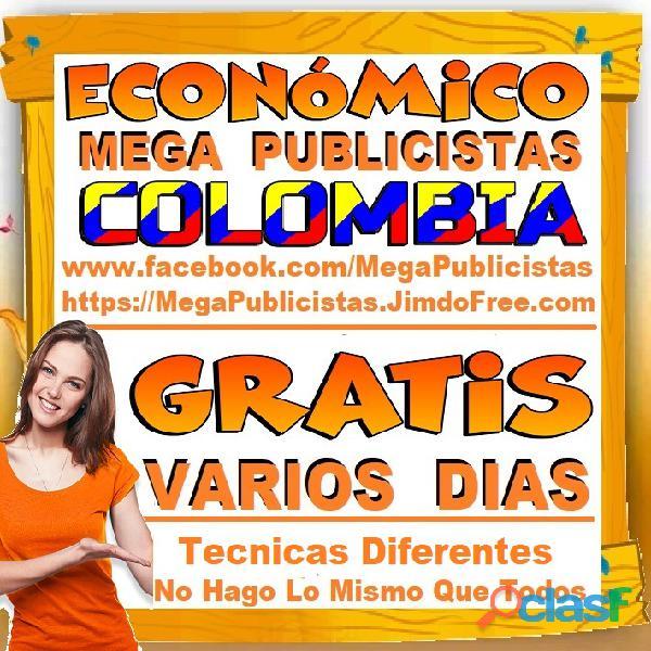 ⭐ GRATIS, Mega Publicistas BOGOTA, Super Publicista, Ultra Agencia Publicidad, Marketing Digital, Me 4