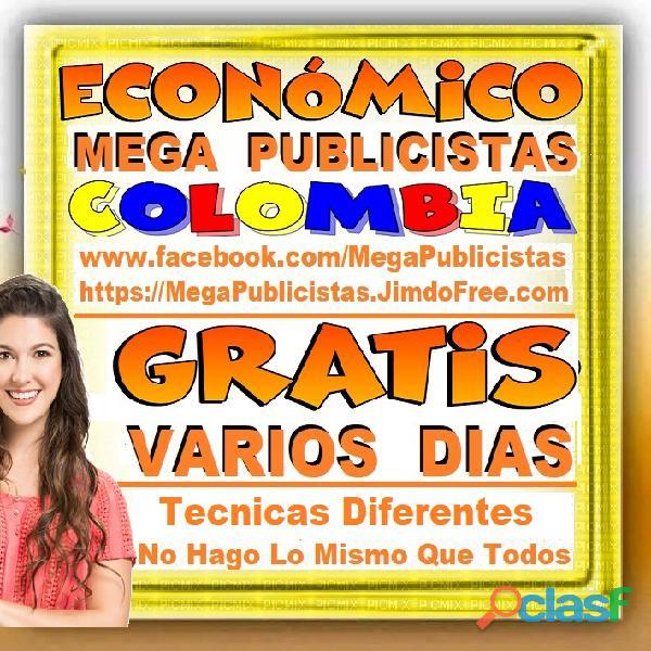⭐ GRATIS, Mega Publicistas BOGOTA, Super Publicista, Ultra Agencia Publicidad, Marketing Digital, Me 3