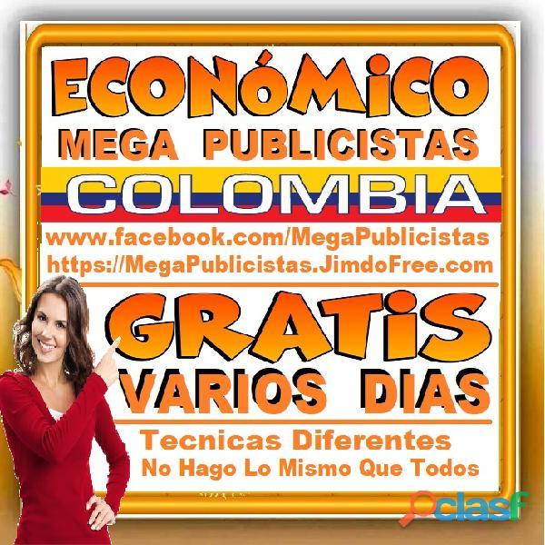 ⭐ GRATIS, Mega Publicistas BOGOTA, Super Publicista, Ultra Agencia Publicidad, Marketing Digital, Me 2