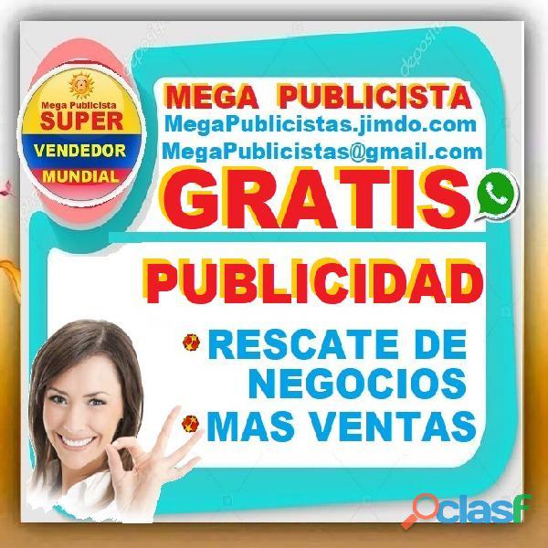 ⭐ GRATIS, Mega Publicistas, Ultra Vendedor, Super Publicista, Agencia Publicidad, Posicionamiento, M