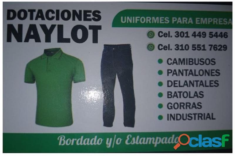 ⭐ uniformes para empresas, calzado, camibusos, pantalones, delantales, overoles, batolas, gorras, bo