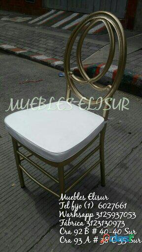 Muebles elisur: sillas tiffany elegantes 3125937053