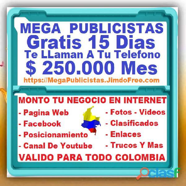 ⭐ gratis, mega publicistas cali, agencia publicidad, super publicista, ultra marketing digital, cali