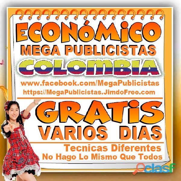⭐ GRATIS, Mega Publicistas CALI, Super Publicista, Ultra Agencia Publicidad, Marketing Digital, Merc 2