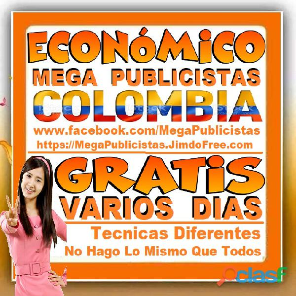 ⭐ GRATIS, Mega Publicistas CALI, Super Publicista, Ultra Agencia Publicidad, Marketing Digital, Merc 3