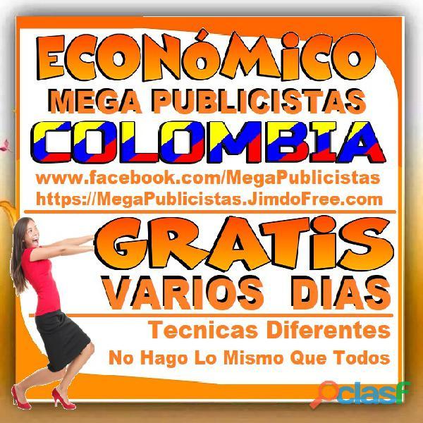 ⭐ GRATIS, Mega Publicistas CALI, Super Publicista, Ultra Agencia Publicidad, Marketing Digital, Merc 4
