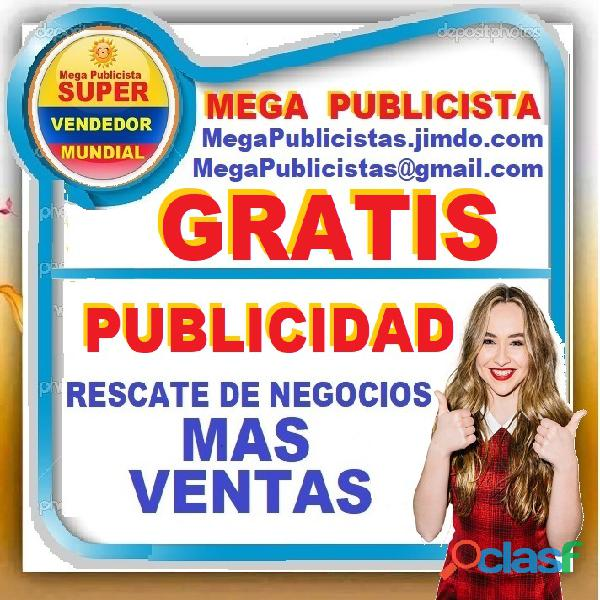 ⭐ gratis, mega publicistas, ultra vendedor, super publicista, agencia publicidad, cali, palmira