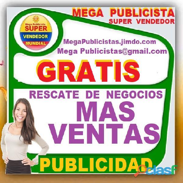 ⭐ gratis, mega publicistas, ultra vendedor, super publicista, agencia publicidad, medellin, bello, i