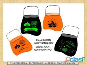 Halloween bolsas para dia de los brujitos+marcadas con logo+en promocion