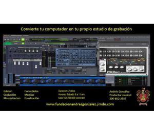 Curso vacacional de produccion musical