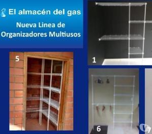 Organizador multiusos closet estanteria armario