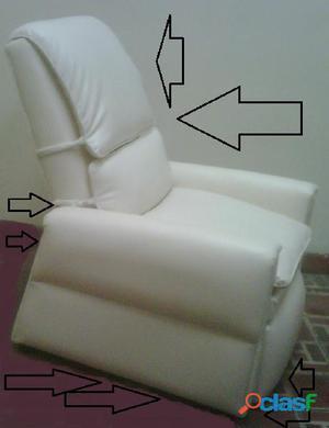sillas reclinables de tres posiciones