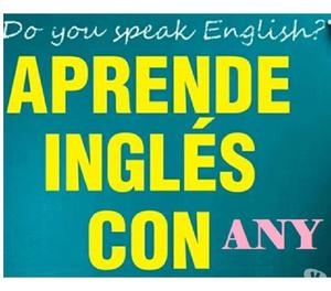 Aprende inglés con any