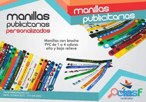 Manillas publicitarias