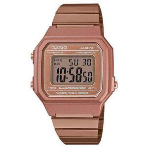 a02f3753244e Reloj casio retro oro rosa b650wc100% original nueva colecci