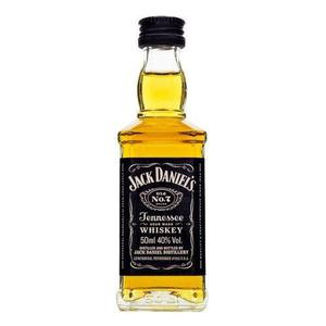 Miniatura Botellita 50ml Whiskey Jack Daniels Estampillada