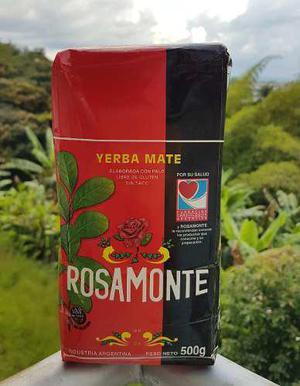 Yerba Mate Rosamonte Tradicional X500 Gr