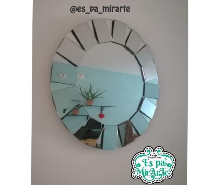 Espejos decorativos diseños innovadores en medellin