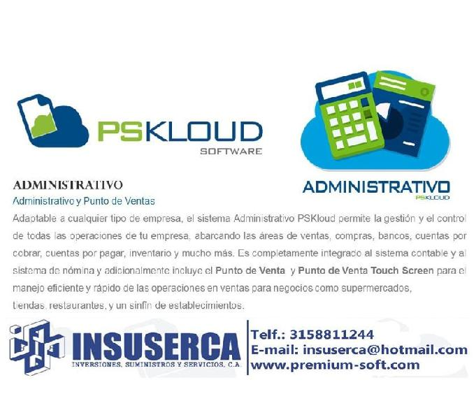 Programa contable pskloud 1 usuario.