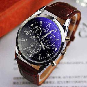 Reloj para hombre en cuero elegante - detal y por mayor