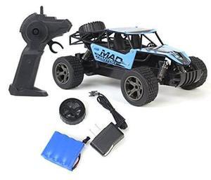 Rey cheetah control remoto rc juguete azul rally buggy carro