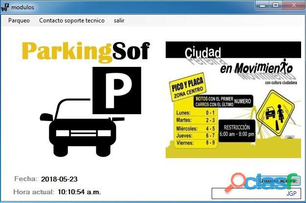 Software para parqueaderos  programa para parqueaderos